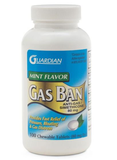 Anti-Gas Chew Tabs PF11172 by Guardian Drug Company
