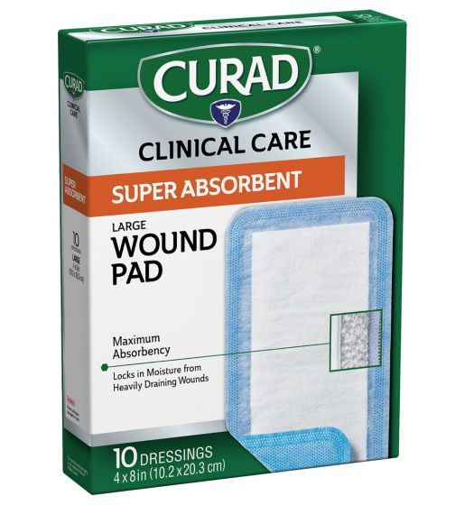 CURAD Clinical Advances Super Absorbent Polymer Wound Dressings CUR5152V1 by CURAD