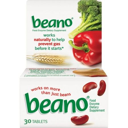 Beano Food Enzyme Dietary Supplement OTC010304 by
