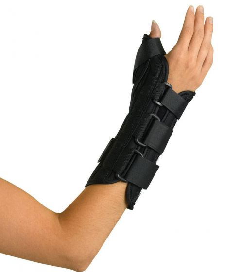Wrist and Forearm Splint with Abducted Thumb PF03281 by Medline