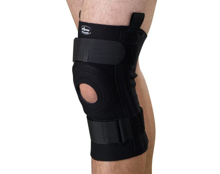 Knee Supports with Removable U-Buttress