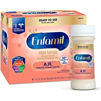 Enfamil A.R. Lipil Ready-to-Feed Infant Formula 2oz - Shop All PF10713 by Mead Johnson Nutritional Group