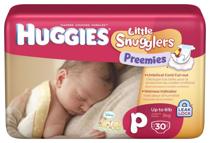Huggies Diapers Little Snugglers Preemie Diapers Up to 6 lbs  - Shop All PF24050 by Huggies
