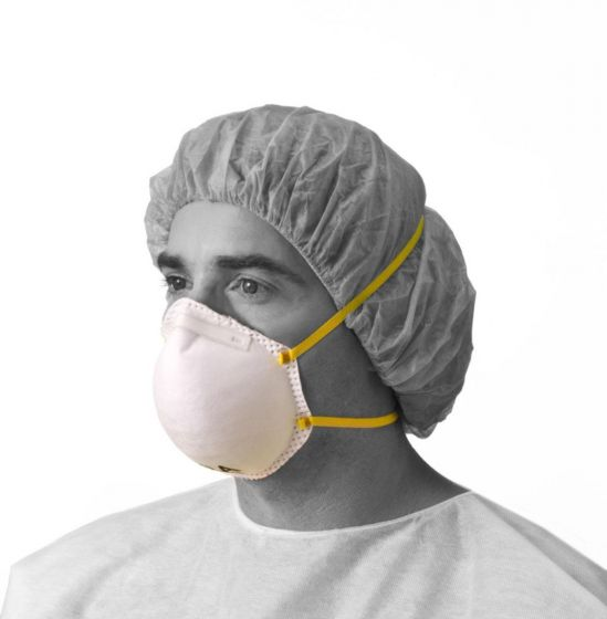 N95 Cone-Style Particulate Respirator Mask NON24506A by Medline