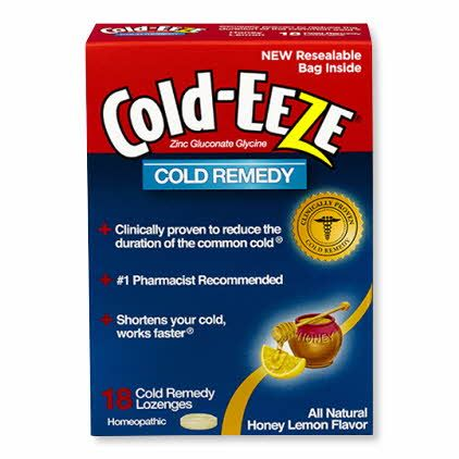 Cold-EEZE Lozenges Honey Lemon 18Ct OTC002108 by Mylan