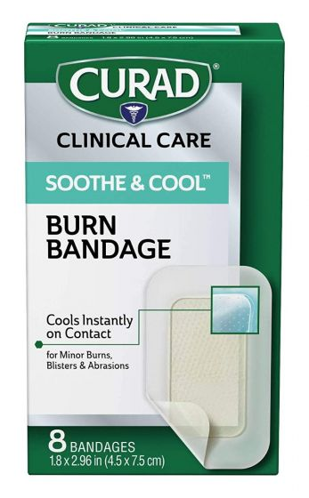 CURAD Soothe & Cool Adhesive Bandages