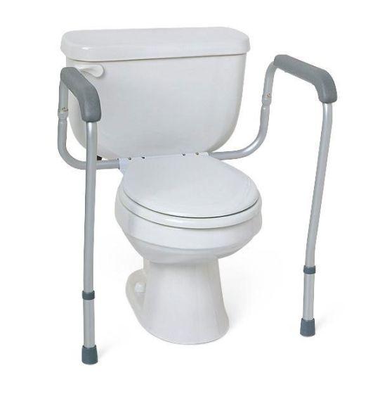 Medline Guardian Toilet Safety Rails 2Ct MDS86100RF by Medline