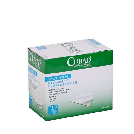 "CURAD Sterile Nonadherent Pad 2"" x 3"" 1 Count NON25700HH by Medline"