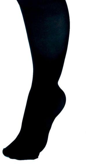 CURAD Knee Compression Hosiery 15-20mmHg Blk C Reg 1Pr MDS1701CBH by Medline
