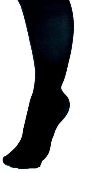 CURAD Knee Compression Hosiery 8-15mmHg Blk XL Reg 1Pr MDS1713DBH by Medline