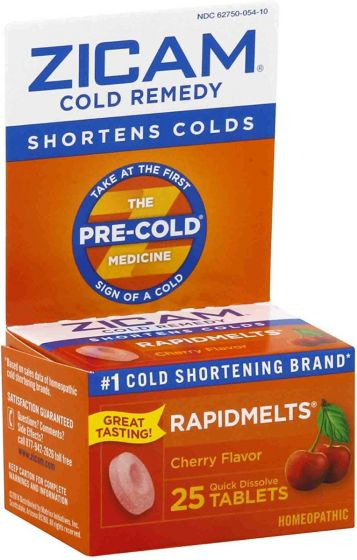 ZICAM Cold Remedy RapidMelts, Cherry flavor OTC005410 by