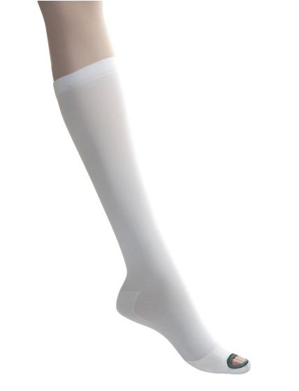 EMS Knee-High Anti-Embolism Stockings, Size M Long MDS160648H by Medline