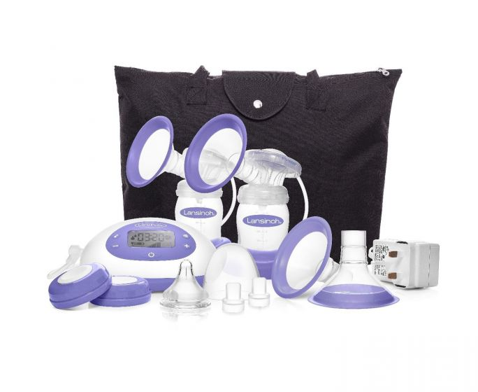 Lansinoh SignaturePro Double Electric Breast Pump EMO53016H by Lansinoh Laboratory Inc