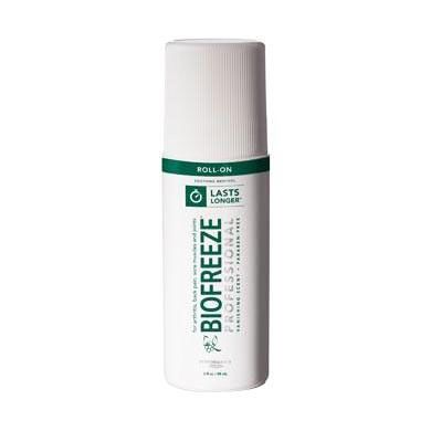 Biofreeze Cold Therapy Pain Relief Gel 3oz Roll-On 1Ct HYD13416H by The Hygenic Corporation