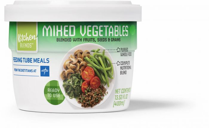 Kitchen Blends® Feeding Tube Meals - Mixed Vegetables ENTKB200 by Medline