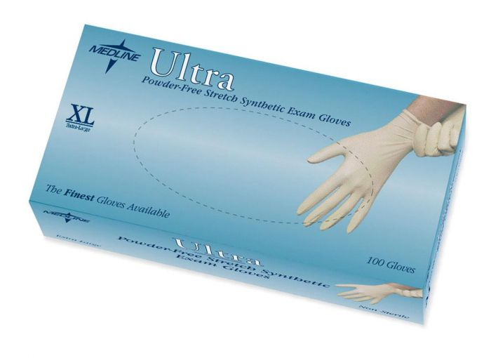 Ultra Stretch Synthetic Exam Gloves MDS193077 by
