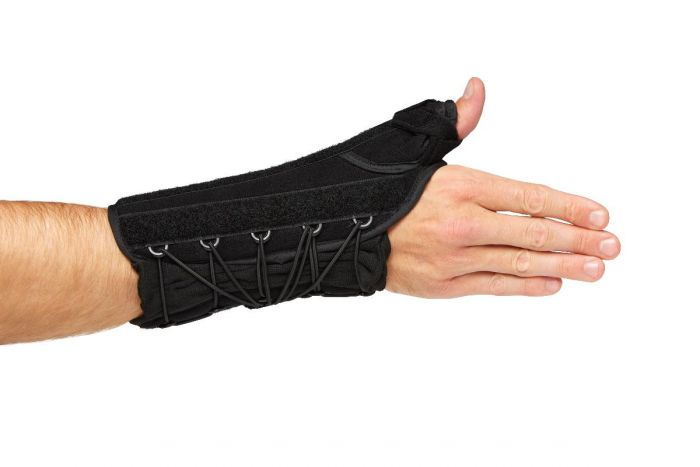 Wrist Lacer with Thumb Support, 8in, Right, Size XL ORT18520RXL by
