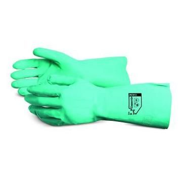 Chemstop 12mil Nitrile Unlined Industrial Gloves XL 12Pr NI3012-10 by Chemstop
