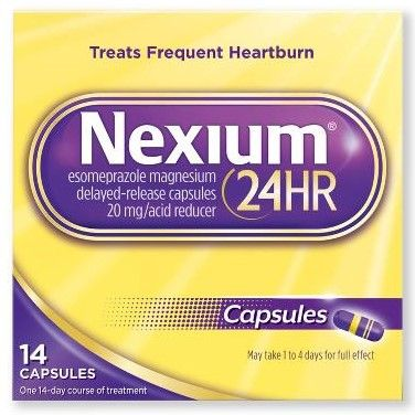 Nexium 24 Hour Heartburn Relief OTC245014H by