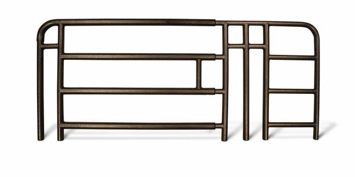 Adjustable Full-Length Bed Rails MDS89694N by Medline