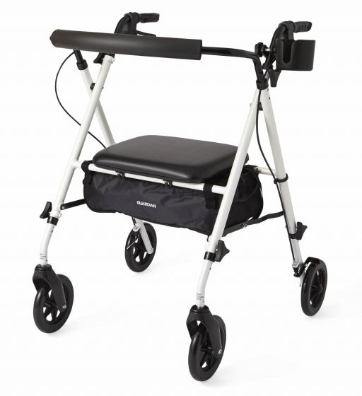 Luxe Rollator with 7in Wheels MDS86835W by