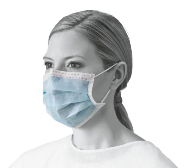 Basic Procedure Face Mask with Earloops NON27378C by Medline