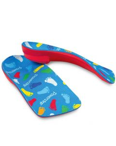 PowerKids 3/4 Length Pediatric Orthotic Insoles, Size KG (Youth 3-4)
