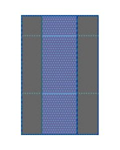 Medline Nonsterile Table Covers 50x90 100Ct