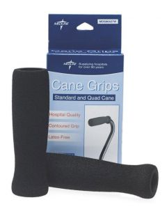 Medline Cane Grips for Standard/Quad Cane 12 Count