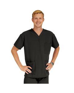 Madison ave Unisex Scrub Top Size 2XS Black