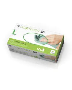 CA Only-Medline Aloetouch 3G Vinyl Exam Glove L 100Ct