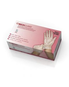CA Only - Medline MediGuard Vinyl Exam Glove S 150Ct