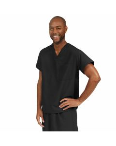 PerforMAX Unisex Reversible V-Neck Scrub Top with 2 Pockets