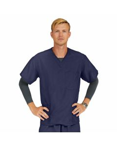 PerforMAX Unisex Long Sleeve Scrub Top with 4 Pockets