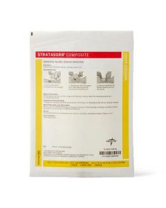 Stratasorb Waterproof Adhesive Island Wound Dressings