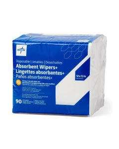 Medline Absorbent Wipers+ Dry Wipes 1080Ct