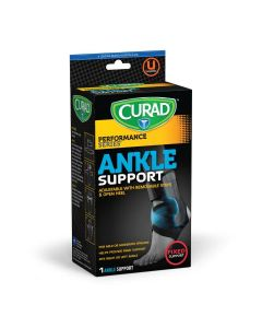 CURAD Universal Ankle Support with Stays 1Ct