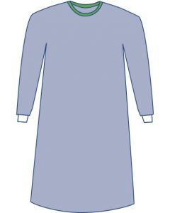 Sterile Nonreinforced Eclipse Surgical Gowns with Towel, Size 2XL, Case of 18