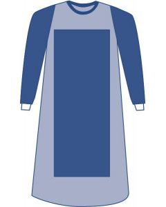 Sirus Poly Reinforced Gown with Breathable Sleeves, Size XL, Case of 30