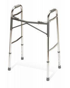 Medline Heavy Duty Folding Walker XW Frame 400lb 1Ct