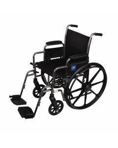 Medline K1 Basic Wheelchair Desk Arm Swing-Away Leg 1Ct