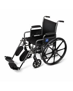 K1 Basic Wheelchair with Elevating Leg Rests