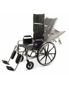 Excel Reclining Wheelchair with Elevating Leg Rests