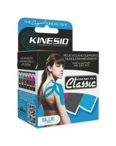 Kinesio Tex Classic Tape 2in x 4.37yd Roll Blue 1Ct