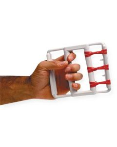 CanDo Hand Grip Exerciser with 5 Bands 1 Set