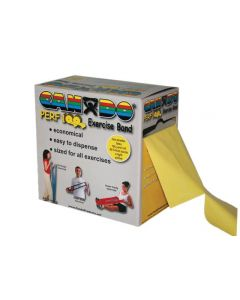 CanDo Resistive Exercise Bands 100 YDS YELLOW LVL 2