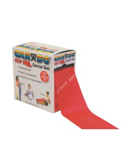CanDo Resistive Exercise Bands 100 YDS RED LVL 3