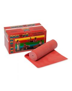 CanDo Red Cut-to-Size Exercise Band Roll Light 6yd 1Ct
