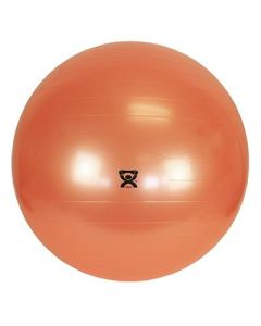 CanDo Orange Inflatable Exercise Ball 48in 1Ct