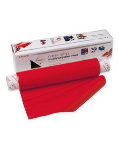 Dycem Nonslip Material 8in x 6.5ft Roll Red 1Ct